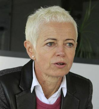 بریژیت کلنکرت (Brigitte Klinkert) وزیر مشاور ادغام اجتماعی  width=