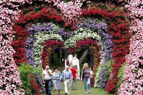 بازدید از جشنواره گل در لیتوانی/ EPA