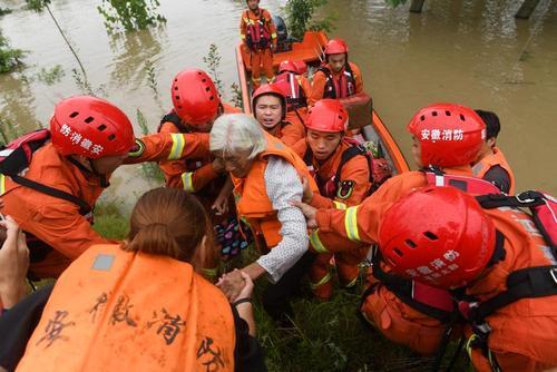 امدادرسانی به سیلزدگان در چین/ رویترز