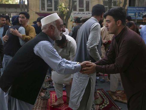 نماز عید قربان در شهر کابل افغانستان/ آسوشیتدپرس