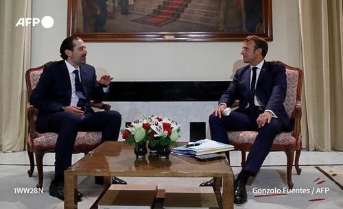 دیدار امانول مکرون رئیس جمهور فرانسه و