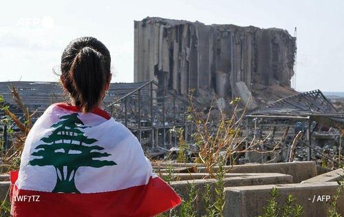 سیلوی گندم بندر بیروت پس از انفجار بزرگ لبنان/ خبرگزاری فرانسه