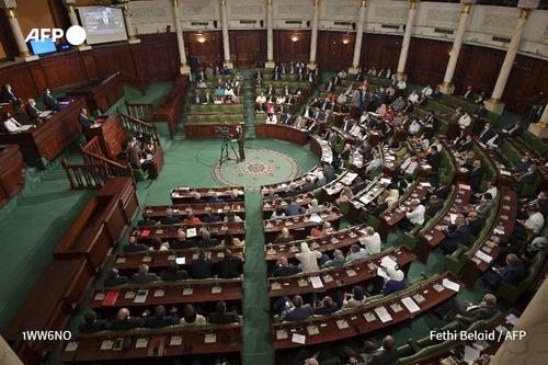 نمایی از پارلمان تونس/ خبرگزاری فرانسه