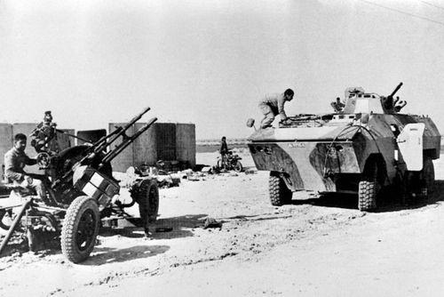 نیروهای ایرانی در جنگ فاو در سال 1986