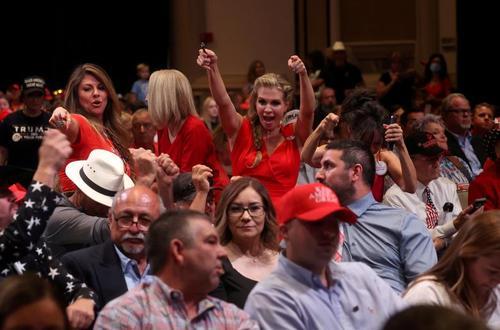 گردهمایی و سخنرانی انتخاباتی ترامپ در شهر فینیکس ایالت آریزونا/14 سپتامبر 2020