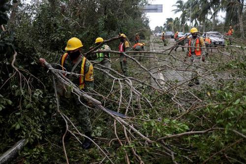 خسارات توفان