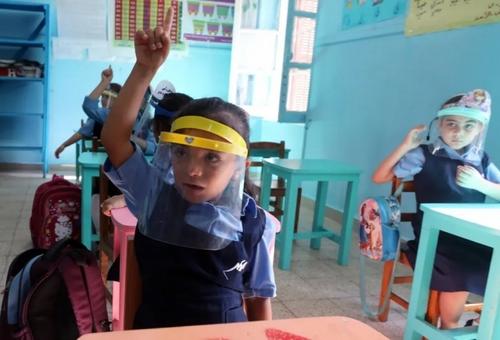 بازگشایی مدارس در شهر قاهره مصر/ EPA