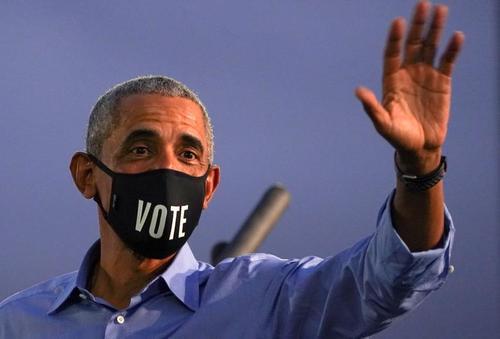 کمپین و سخنرانی باراک اوباما به نفع