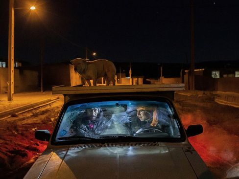 مجموعه زندگی در میان زبالهها. عکسی از عکاس ایرانی