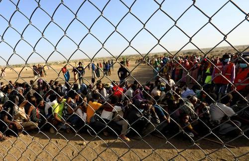 اردوگاه آوارگان جنگی اتیوپیایی در سودان/ رویترز