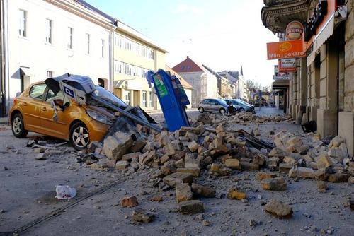 خسارات زلزله 6.3 ریشتری در کرواسی/ رویترز