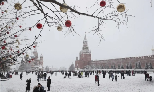 میدان سرخ مسکو/ EPA