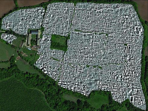 اولین نقشه کامل باستانی روم