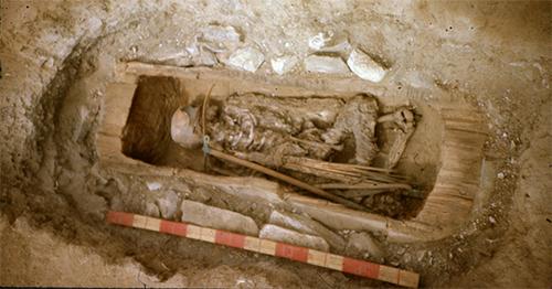 آرامگاه دختر اسکیفی در تووا به قدمت ۲۶۰۰ سال