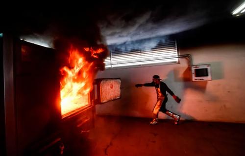 یک مرکز سوزاندن اجساد قربانیان کرونا در مکزیک/ خبرگزاری فرانسه