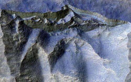 تصاویر جدید منتشر شده از سوی ناسا از سطح سیاره مریخ