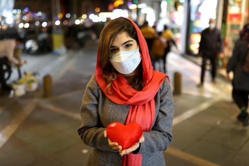روز ولنتاین 2021 در تهران/ وانا