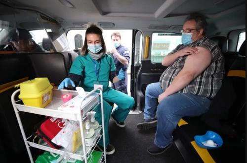 واکسیناسیون کرونا در لندن/PA