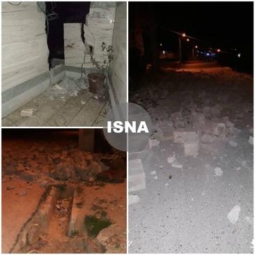 تصاویری از خسارات زلزله ۵.۶ ریشتری سی سخت در روستای بن زرد از توابع شهرستان دنا/ایسنا