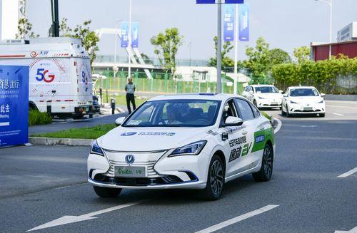تست خودروی خودران مبتنی بر فناوری 5جی در چونگ کینگ