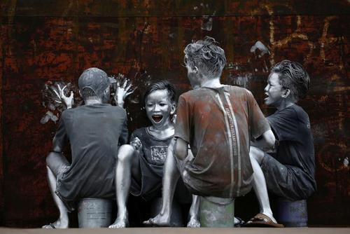 نوجوانان اندونزیایی در شکل و شمایل