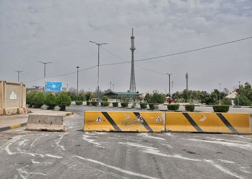 خلوتی شهر اهواز در روز سیزده بدر (+عکس)