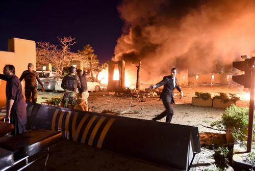 انفجار تروریستی در هتل