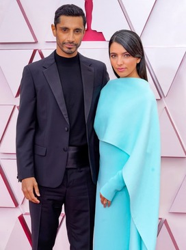 ریز احمد و همسرش فاطمه فرحین میرزا