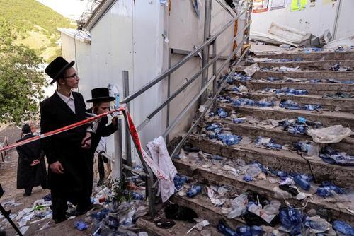 مرگ دستکم 45 نفر در جریان ازدحام در یک مراسم آیینی یهودیان ارتدوکس در شمال اسراییل/ رویترز و آسوشیتدپرس