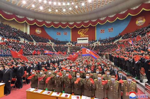 برگزاری دهمین کنگره سراسری جوانان حزب حاکم کره شمالی در شهر پیونگ یانگ/ خبرگزاری رسمی کره شمالی