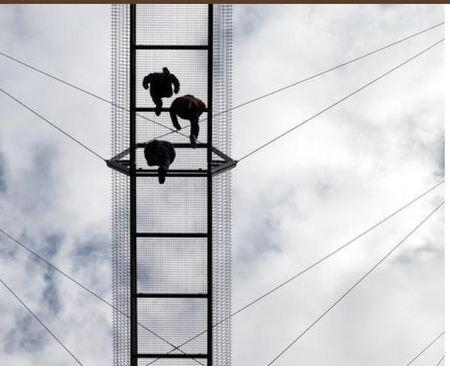 افتتاح طولانیترین پل معلق جهان  + عکس