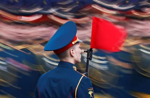 رژه روز پیروزی (در جنگ دوم جهانی) در میدان سرخ مسکو/ رویترز