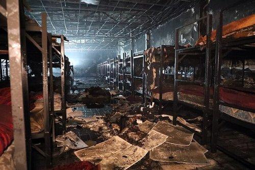 مشهد/ ۳ کشته در آتش سوزی یک مرکز ترک اعتیاد