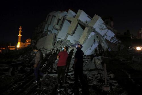 حملات هوایی اسراییل به نوار غزه/ رویترز