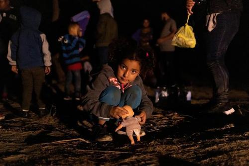 پناهجویان آمریکای مرکزی در مرز ایالات متحده آمریکا و مکزیک/ رویترز