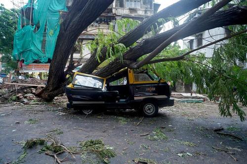 خسارت های توفان در شهر بمبئی و ایالت گجرات هند/ رویترز
