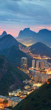 شهر ریو دوژانیرو در برزیل از زاویه ای متفاوت