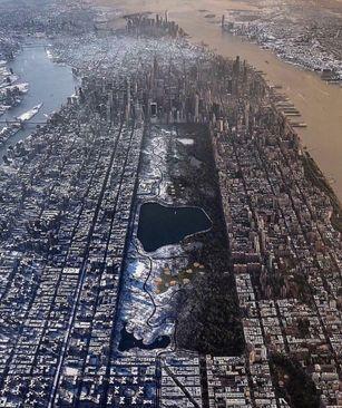 نمایی متفاوت از شهر نیویورک، آمریکا
