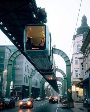مسیر ریلی معلق در ووپرتال، آلمان