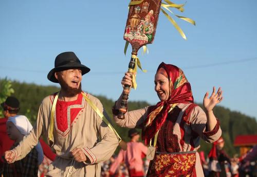 برگزاری جشنواره آیینی مسیحیان ارتدوکس در تاتارستان روسیه/ ایتارتاس