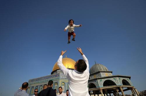 آیین های گرامیداشت عیدقربان در ممالک اسلامی/ رویترز