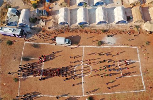 برگزاری مسابقات المپیک آوارگان جنگی از میان 120 جوان ساکن 12 اردوگاه مهاجران در استان ادلب سوریه/ خبرگزاری فرانسه