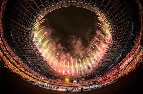 مراسم افتتاحیه مسابقات پارا المپیک توکیو 2020/ رویترز