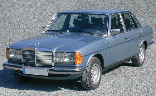 مرسدس بنز 280 ایی(دبلیو123) مدل 1982