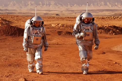 تمرین مشترک فضانوردان اروپایی و اسراییل در