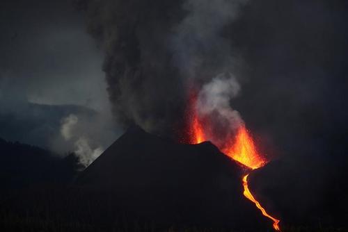 آتشفشان جزیره